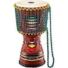 Meinl Large Artisan Edition Tongo Carved Mahogany Mali-Weave Djembe