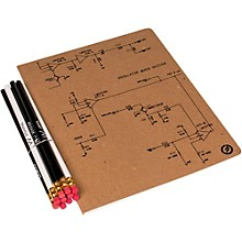 Moog Large Notebook and Pencil Set (8X10)