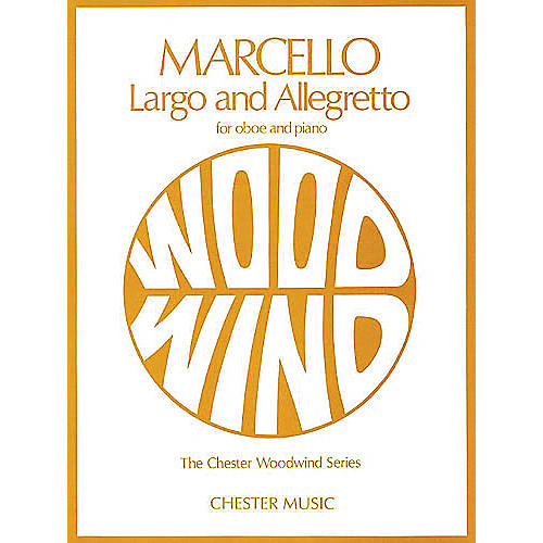 Chester Music Largo and Allegretto (for Oboe and Piano) Music Sales America Series