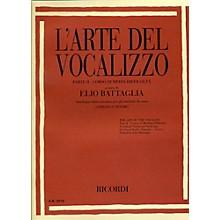 """Ricordi L'arte Del Vocalizzo The Art of the Vocalise """" Part II Soprano-tenor"""