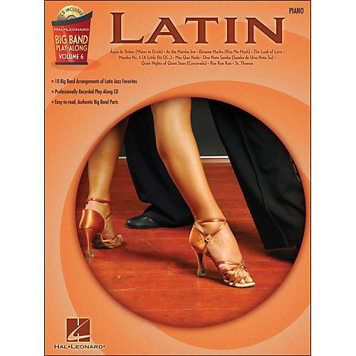 Hal Leonard Latin - Big Band Play-Along Vol. 6 Piano