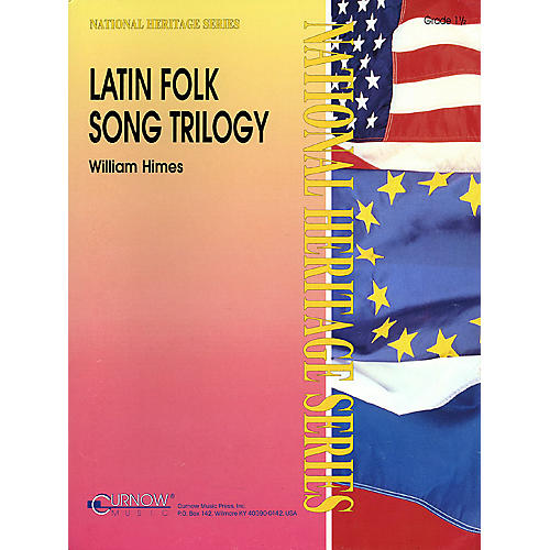 Curnow Music Latin Folk Song Trilogy (Grade 3 - Score Only) Concert Band Level 3 Arranged by William Himes