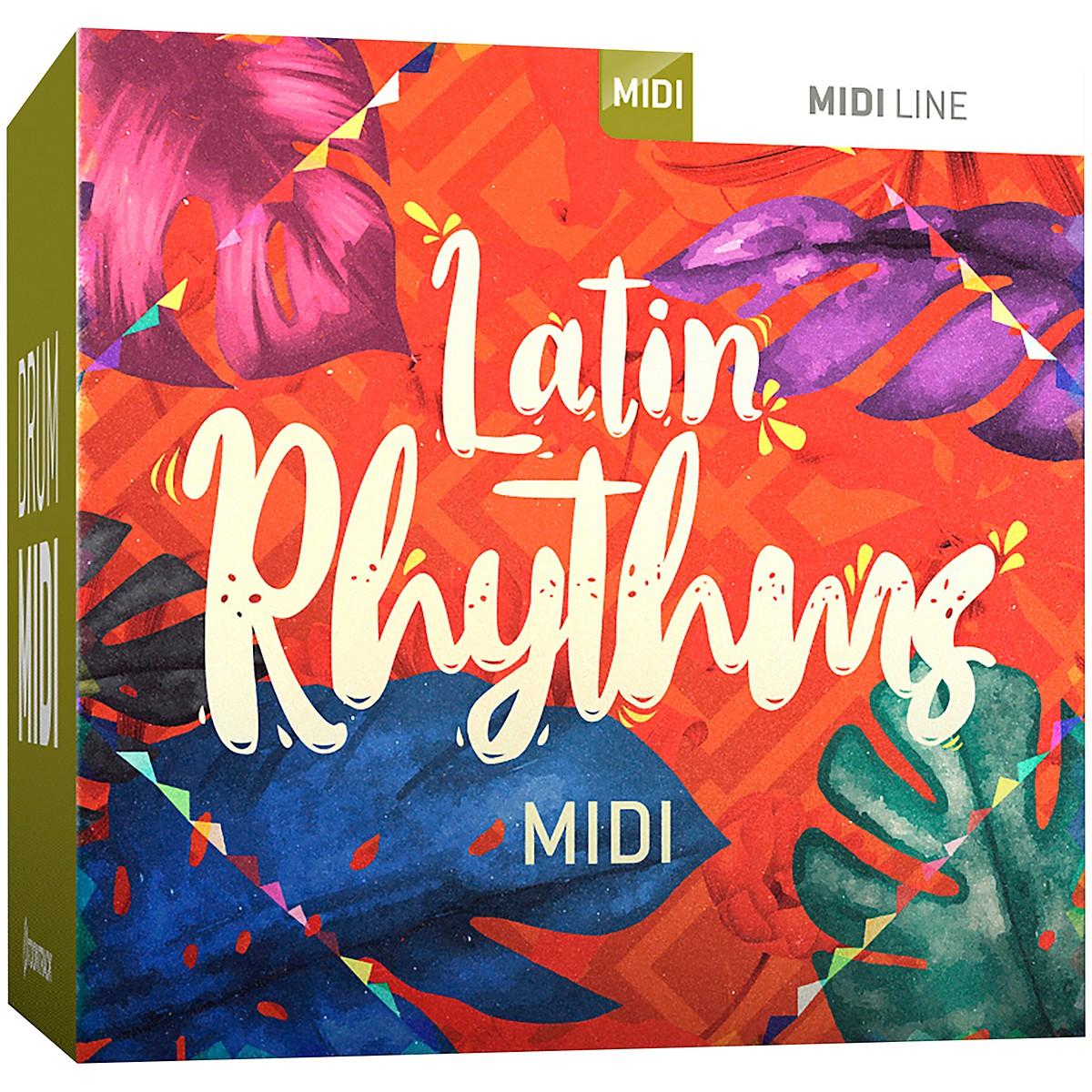 Toontrack Latin Rhythms MIDI (Software Download)