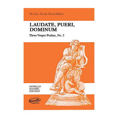 Novello Laudate, Pueri, Dominum (Three Vesper Psalms, No. 2) SSATB Composed by George Frideric Handel