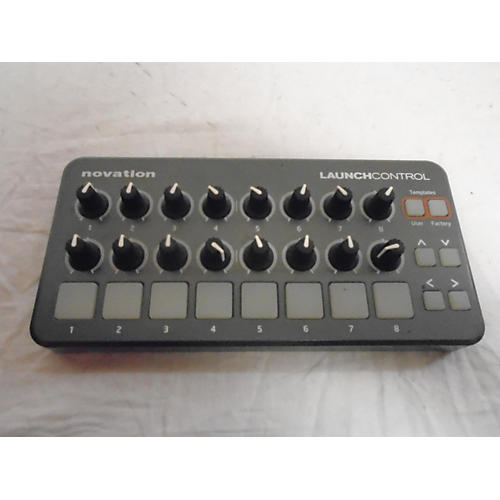 used novation launch control midi controller guitar center. Black Bedroom Furniture Sets. Home Design Ideas