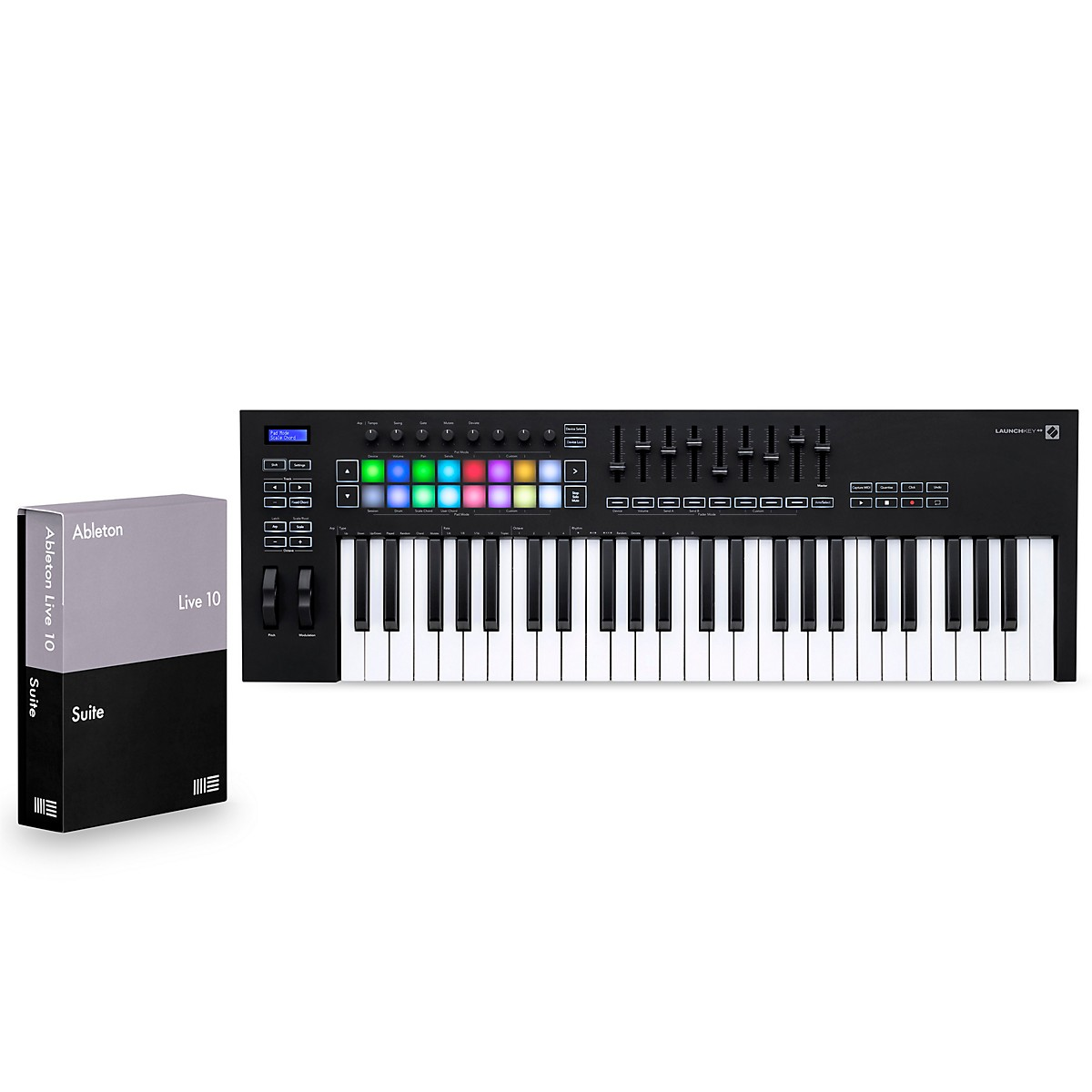 Novation Launchkey 49 [MK3] with Ableton Live 10 Suite