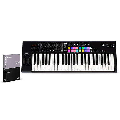 Novation Launchkey 49 with Ableton Live 10 Suite