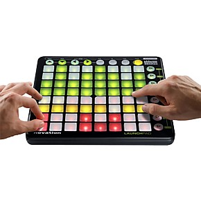 novation launchpad control surface for ableton live guitar center. Black Bedroom Furniture Sets. Home Design Ideas