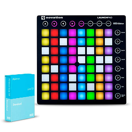Novation Launchpad with Ableton Live 10 Standard