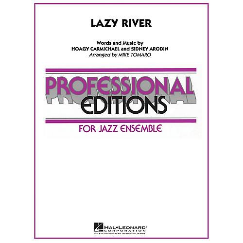 Hal Leonard Lazy River Jazz Band Level 5-6 Arranged by Mike Tomaro