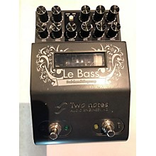 Two Notes Audio Engineering Le Bass Bass Effect Pedal