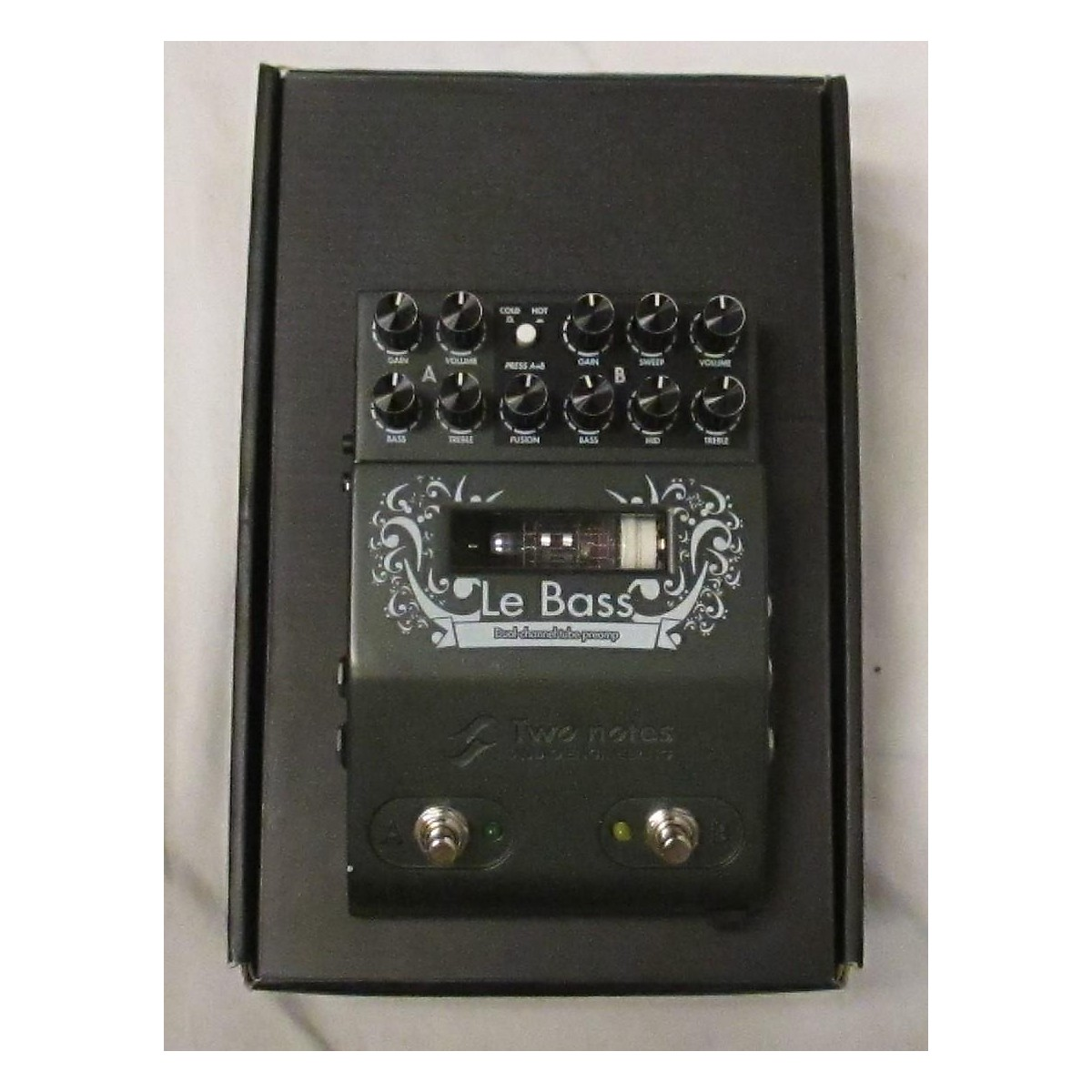 Two Notes Audio Engineering Le Bass Tube Bass Preamp