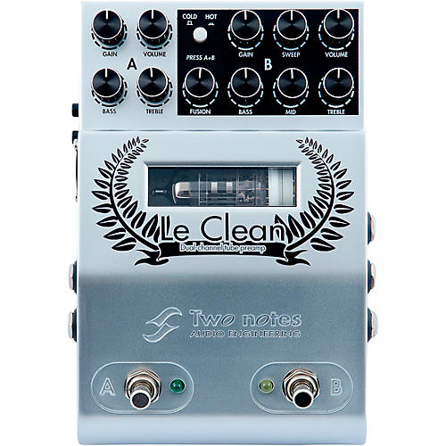 Two Notes Audio Engineering Le Clean Preamp Effects Pedal