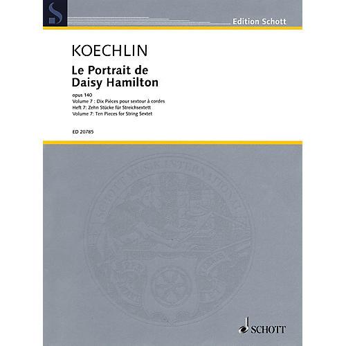 Schott Le Portrait de Daisy Hamilton, Op. 140 String Ensemble Series Softcover Composed by Charles Koechlin