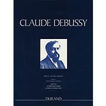 Editions Durand Le Roi Lear, Le Diable dans le beffroi, La Chute de la Maison Usher Critical Ed Full Score by Debussy