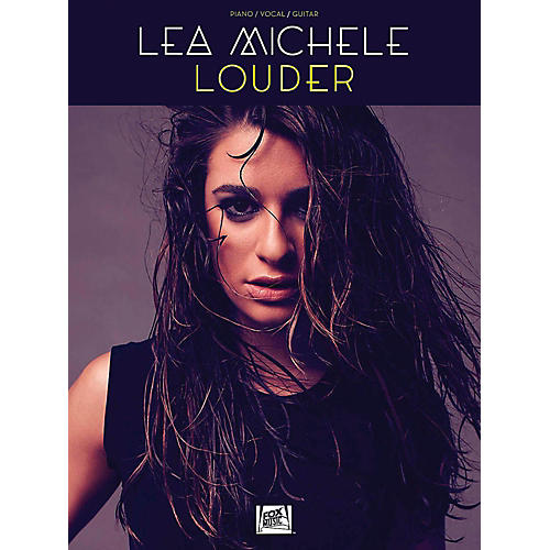 Hal Leonard Lea Michele - Louder for Piano/Vocal/Guitar