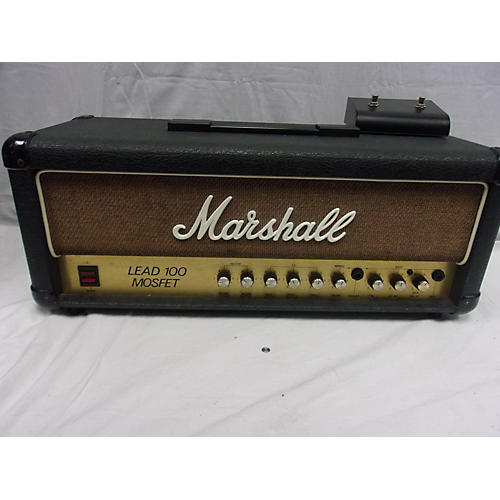 used marshall lead 100 mosfet solid state guitar amp head guitar center. Black Bedroom Furniture Sets. Home Design Ideas