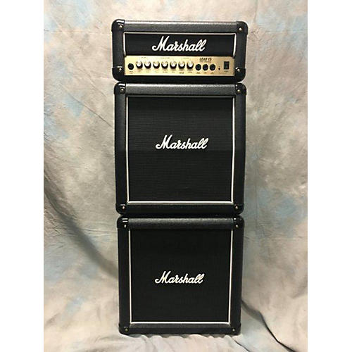 Marshall Lead 15 Mini Stack Guitar Stack