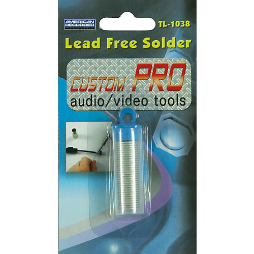 American Recorder Technologies Lead Free Solder
