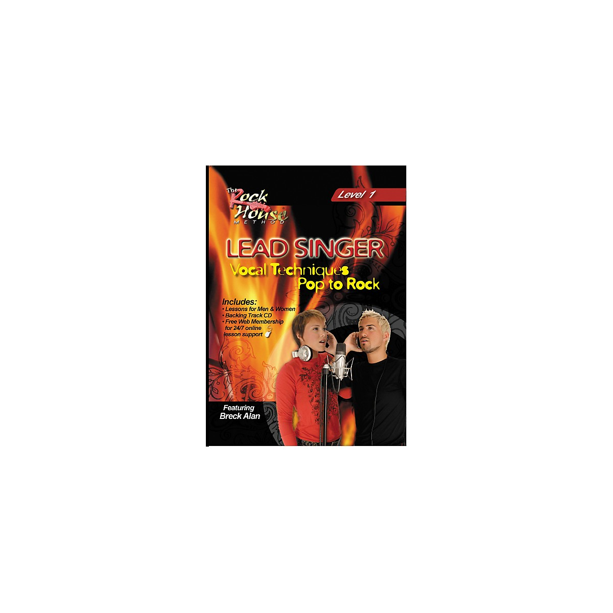 Hal Leonard Lead Singer Vocal Techniques From Pop to Rock DVD Level 1