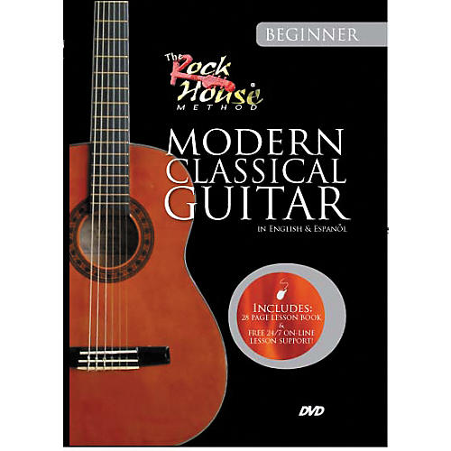 Hal Leonard Learn Modern Classical Guitar (Beginner) DVD
