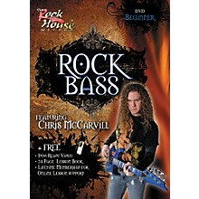 Hal Leonard Learn Rock Bass Beginner DVD