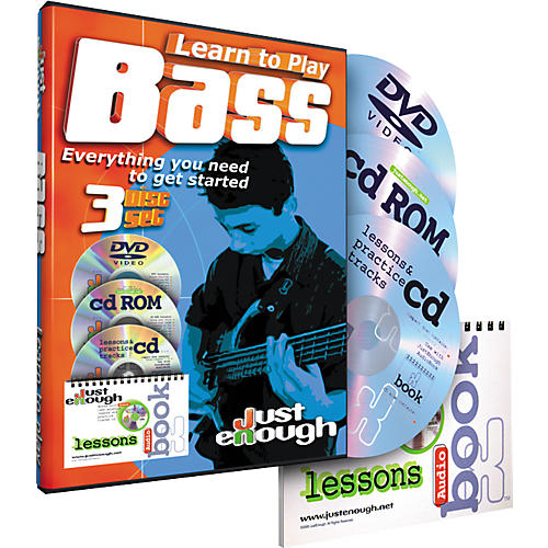 JustEnough Learn To Play Bass Starter Pack