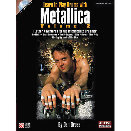 Hal Leonard Learn To Play Drums With Metallica Book and CD - Volume 2