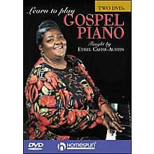 Homespun Learn To Play Gospel Piano 2 DVD Set