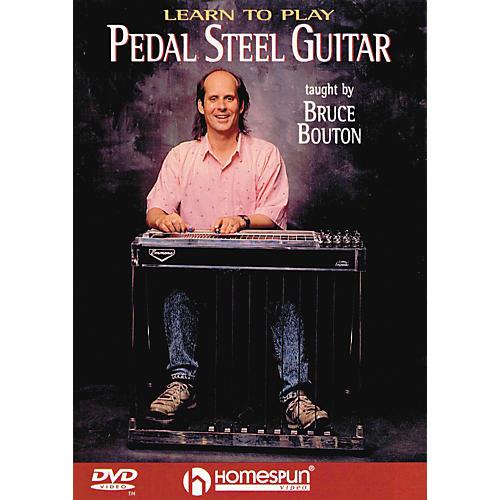 Homespun Learn To Play Pedal Steel Guitar (DVD)