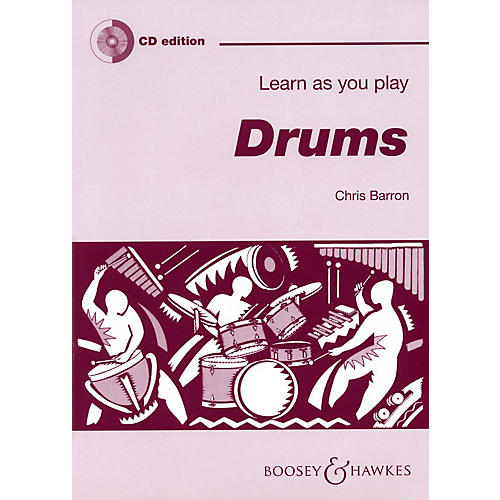 Boosey and Hawkes Learn as You Play Drums Boosey & Hawkes Chamber Music Series Softcover with CD