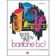 Alfred Learn to Play Baritone B.C.! Book 1