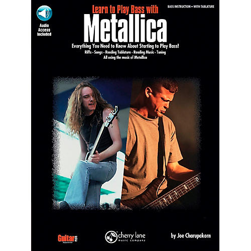 Hal Leonard Learn to Play Bass with Metallica Book/CD