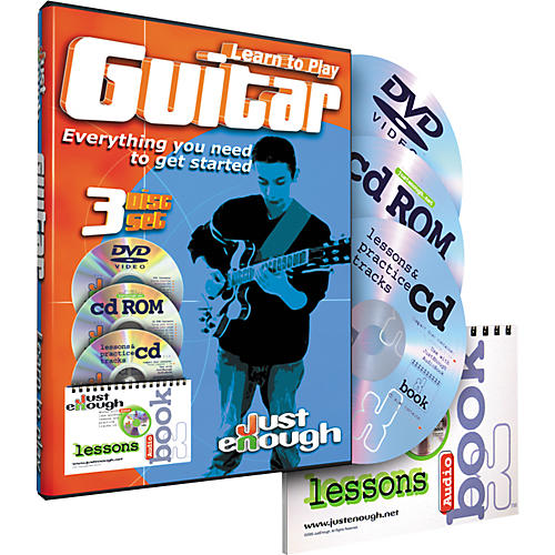 JustEnough Learn to Play Guitar Starter Pack
