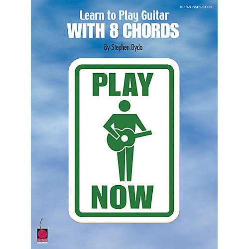 Cherry Lane Learn to Play Guitar with 8 Chords Book