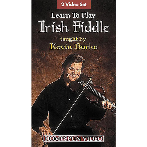 Hal Leonard Learn to Play Irish Fiddle - 2-Video Set
