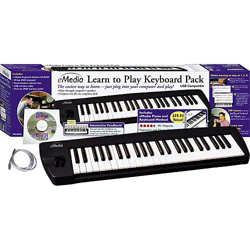 Emedia Learn to Play Keyboard Pack