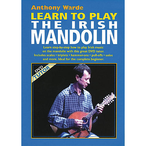 Waltons Learn to Play the Irish Mandolin Waltons Irish Music Dvd Series DVD Written by Anthony Warde