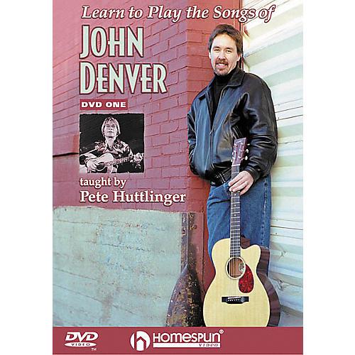 Homespun Learn to Play the Songs of John Denver - Level 2 (DVD)
