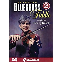 Homespun Learning Bluegrass Fiddle DVD/Instructional/Folk Instrmt Series DVD Written by Kenny Kosek