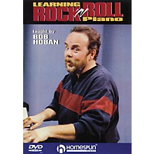 Homespun Learning Rock 'n' Roll Piano Homespun Tapes Series DVD Written by Bob Hoban