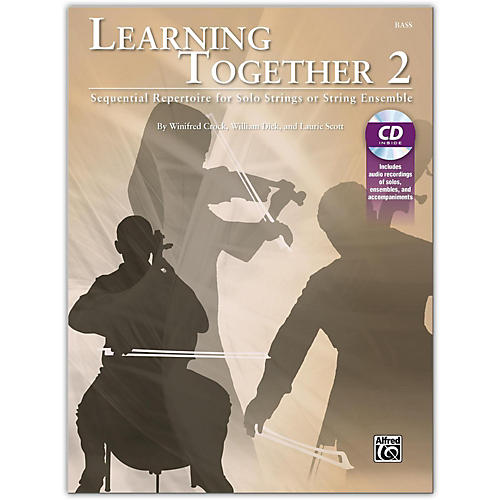 Suzuki Learning Together 2 Bass Book & CD