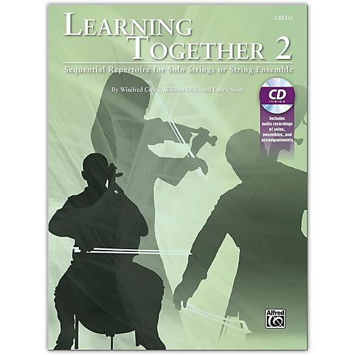 Suzuki Learning Together 2 Cello Book & CD