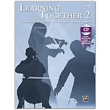 Suzuki Learning Together 2 Violin Book & CD