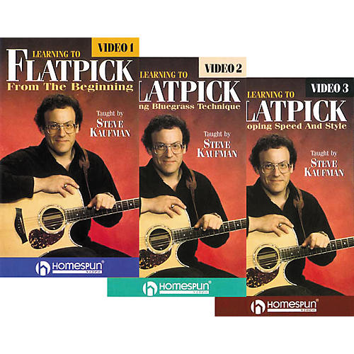 Homespun Learning to Flatpick (VHS)