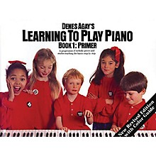 Music Sales Learning to Play Piano Book 1 - Getting Started Yorktown Series Softcover Written by Denes Agay