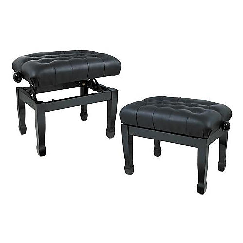 Musician's Gear Leather Concert Piano Bench