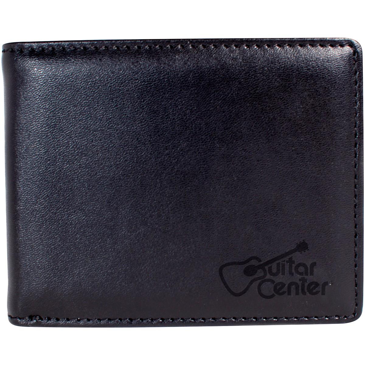 Guitar Center Leather Pick Wallet - Black