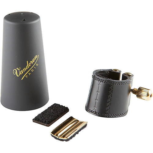 Vandoren Leather Saxophone Ligature with Cap