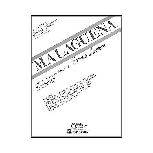 Edward B. Marks Music Company Lecuona: Malaguena Sheet Music For Classical Guitar Book